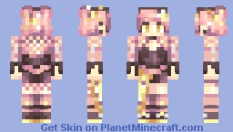 Rose Gold Minecraft Skin