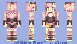 Rose Gold Minecraft Skin