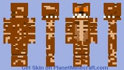 FNAF 4 - Jack O Bonnie Minecraft Skin