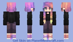 first burn Minecraft Skin