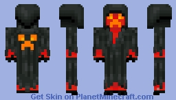 The Bloody Creeper Minecraft Skin