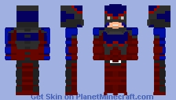 Atom-injustice 2 fighter pack 3 Minecraft Skin