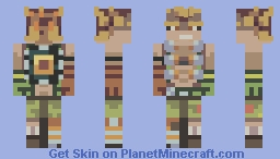Everything's coming up explodey! Overwatch - Junkrat Minecraft Skin