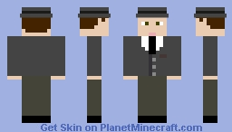 East-German Spy Minecraft Skin