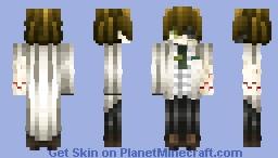 🐬Not Mad, Not Mad At All. It's Schizoprenia🐬 [Skintober Day 6 2017 Mad Scientist] Minecraft Skin
