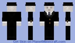 Man In Black Minecraft Skin