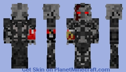 Transformers Megatron With Red Arm (Suggested By Burning_ice-cream) Minecraft Skin