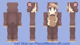 *:・゚✧Bear Onzie ✧・゚*:* Minecraft Skin