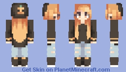 Orange - OMG popreel tyty Minecraft Skin