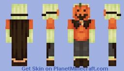 Pumpkin Patch Prettification Minecraft Skin