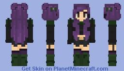 Purp-Boo! ~ ♥ Minecraft Skin