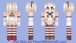 Shimakaze 「島風」 Minecraft Skin