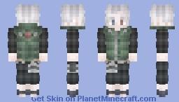 Hatake Jounin [OC] [Naruto] Minecraft Skin