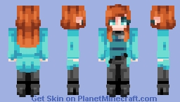 "☆ βενεℜℓγ ☆ ""So when you reach me, tell me you'll stay.""  (Goodbye ♥) Minecraft Skin"