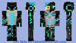 Gene Grey: Merged (Fusions skin contest entry) Minecraft Skin