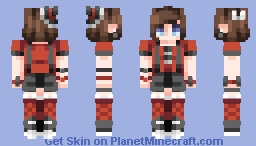 "☆ βενεℜℓγ ☆  ""Can't find the words, but we know how we feel..""  (ST w/ honeybees) Minecraft Skin"