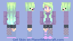 """""""A monster, a monster, i've turned into a monster and it keeps getting stronger""""  ~ OC ~ Minecraft Skin"""
