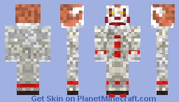 Penny wise the dancing clown Minecraft Skin