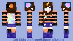 Halloween Uni-Kitty Minecraft Skin