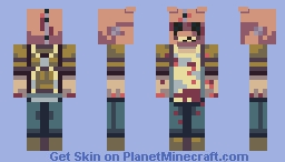 Halloween -The Butcher Minecraft Skin