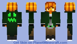 "Pumpkin Boy ""Urban Legends"" - Skin Contest Minecraft Skin"