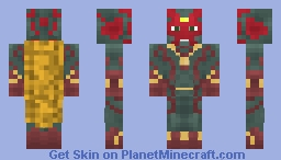 The Vision - Civil War Minecraft Skin