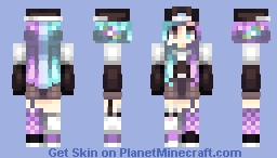 White Mustang // st Minecraft Skin