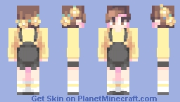 Yellow - POPREEL AGAIN?!?! Minecraft Skin