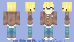 modern armin   better in 3d Minecraft Skin