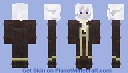 Dark elf Minecraft Skin