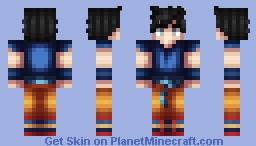 Ultra Instinct Goku Minecraft Skin