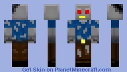 DamagedRobot Minecraft Skin