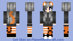 ❆𝓝𝓲𝓷𝓳𝓪𝓖𝓲𝓻𝓵2024❆ Multi Requested Skin 4 (Spooky Theme) Minecraft Skin