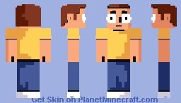 OH jeez Rick! Minecraft Skin