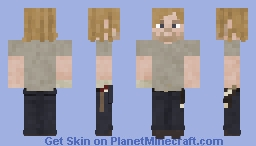 Rick Grimes [Issue 64] // The Walking Dead Comic Minecraft Skin