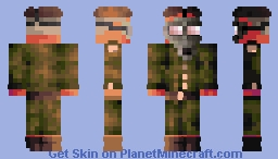 ℜomto- The Russian Sleep Experiment Minecraft Skin