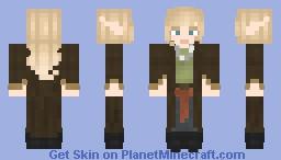 Half elf Minecraft Skin