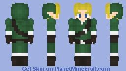 Link - Ocarina of Time adult link Minecraft Skin