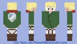 AoT OC (2nd ) Minecraft Skin