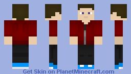 SpiderXbite's Skin (YouTuber) Minecraft Skin