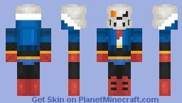 Phase 3. Back to the bone Minecraft Skin