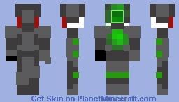 Pixel Eye-b-tron Minecraft Skin