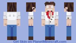 SCP-378 Minecraft Skin
