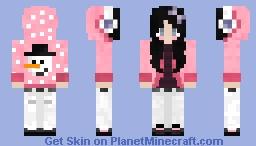 Winter Hoodie Girl Minecraft Skin
