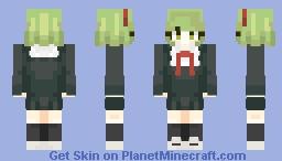 the mage - monaca towa - danganronpa another episode: ultra despair girls Minecraft Skin