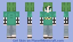 Green bean Minecraft Skin