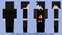 Black Diamond Minecraft Skin