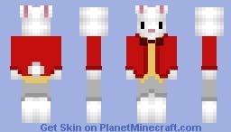 White rabbit Minecraft Skin