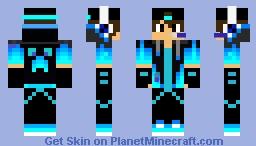Goten70618(Youtube Outfit) Minecraft Skin