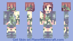 Botanist // Contest entry (omg another contest entry) Minecraft Skin